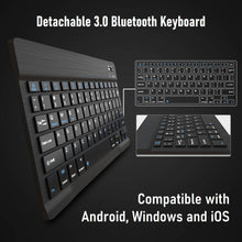 Load image into Gallery viewer, Wireless Bluetooth Keyboard With Protective Cover