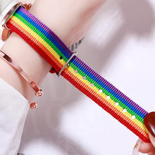 Load image into Gallery viewer, Fashion Rainbow Luxury Women's Quartz Watches
