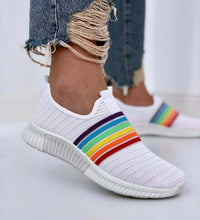 Load image into Gallery viewer, 🔥2020 Hot Sales🔥Color Block Fly-Woven Fabric Sneakers