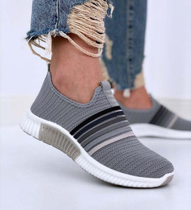 🔥2020 Hot Sales🔥Color Block Fly-Woven Fabric Sneakers