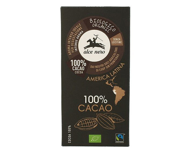 Organic Extra Dark Chocolate 75% Alce Nero(100g)