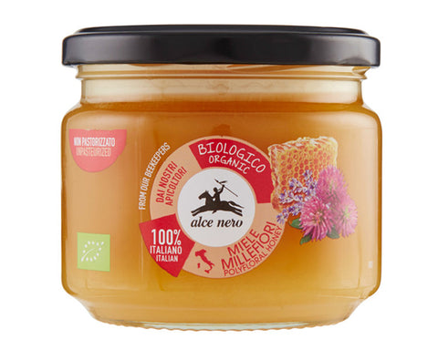 Organic Wildflower Honey Alce Nero (300g)