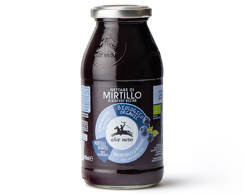 Organic Blueberry Nectar Alce Nero (500ml)