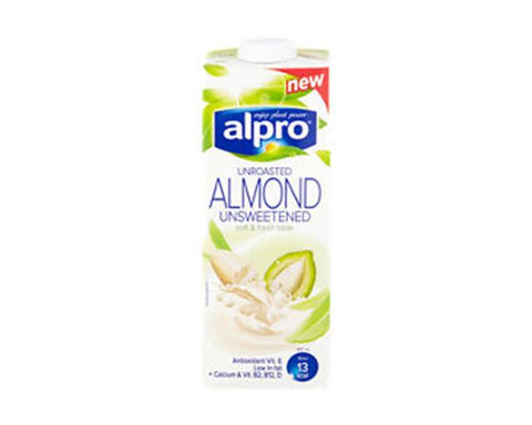 Alpro Almond Milk Sugar Free 1l