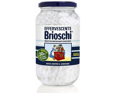 Brioschi - Refreshing Digestive Effervescent with Lemon Flavour (250g)