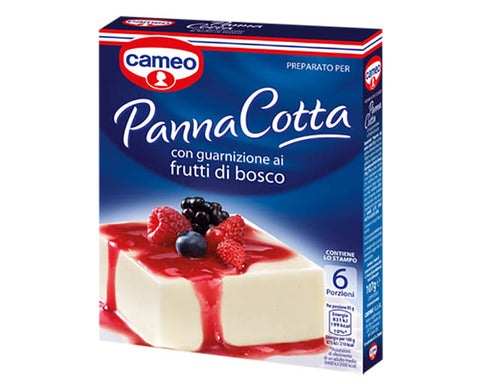 Panna Cotta with berries Cameo (107g)