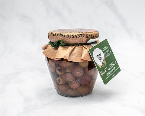 Pitted Taggiasche Olives (180g) Frantoio S.Agata