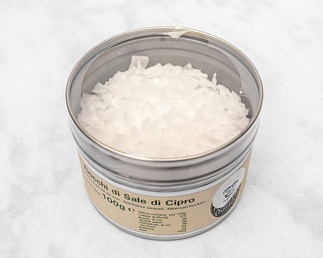 Sea Salt Flakes from Cyprus (100g) Frantoio S.Agata