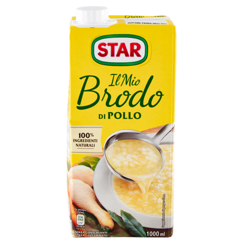 Star chicken broth 1L