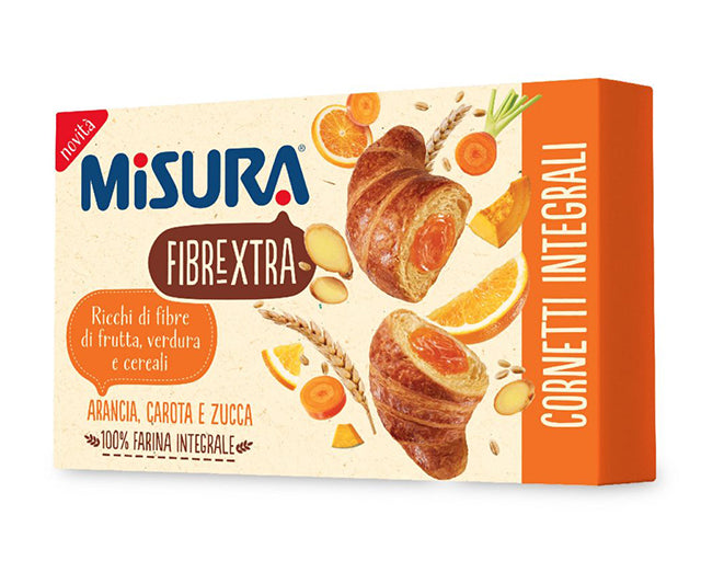 Orange, Pumpkin and Carrots Croissant Misura (300g)