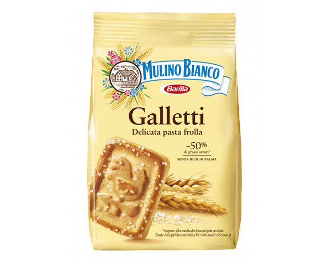 Family Pack Galletti Biscuits Mulino Bianco (800g)
