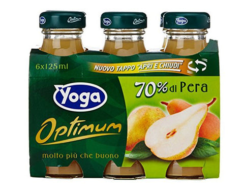 Pear Juice Optimum Yoga (6x125ml)