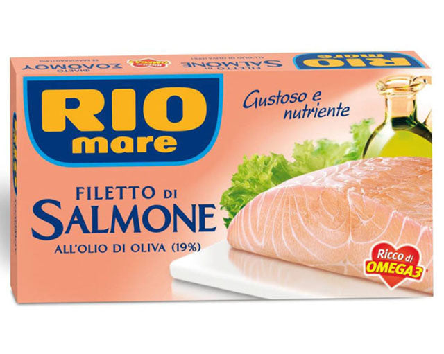 Filetti di Salmone in olive oil Rio Mare (150g)