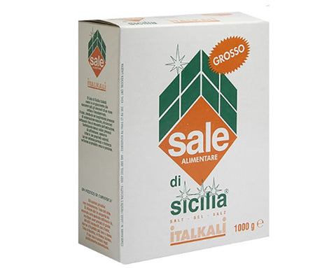 Coarse Iodised Salt of Sicily (1Kg)