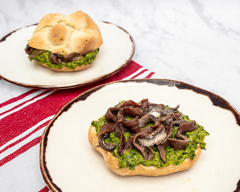 Panino Parsley Sauce & Anchovies CasaCosta