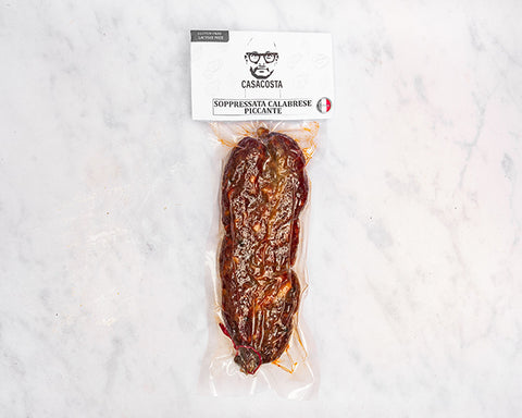 Calabrian Spicy Soppressata (400g)  Only Good Italy