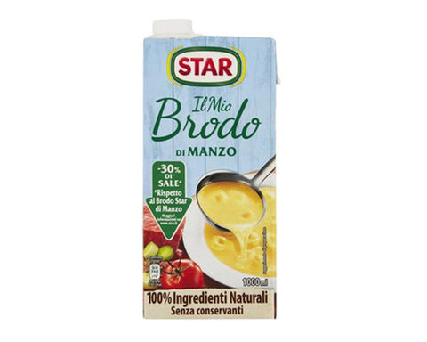 Star beef broth 30% 1L