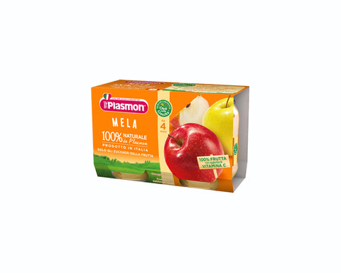Plasmon Baby food Apple (2x104g)