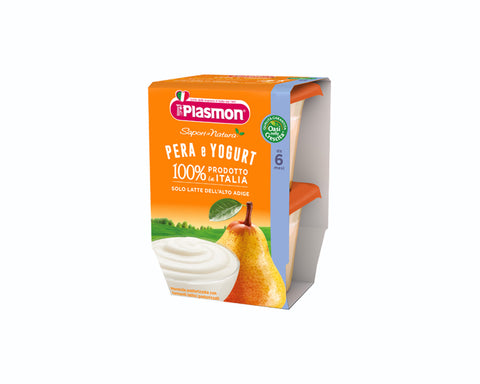 Plasmon Baby Food Pear (2x104g)