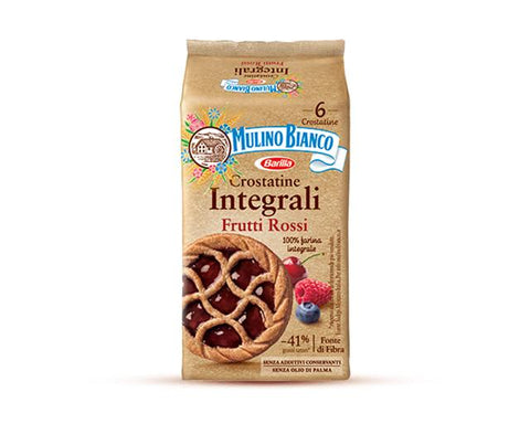 Mulino bianco wholemeal red berries crostatine 216 g