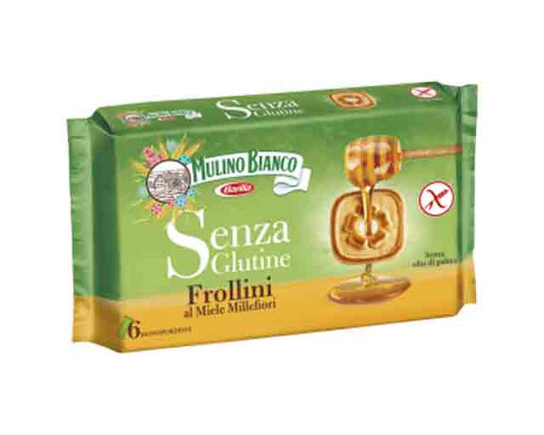 Gluten Free Honey Frollini Biscuits (250g) Mulino Bianco