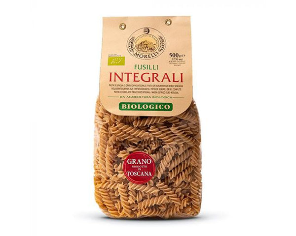Fusilli Wholemeal Wheat BIO - Pastificio Morelli 500g