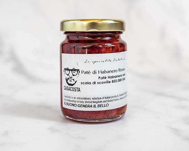 Habanero Red Chilli Pepper Paste (100g)  Only Good Italy