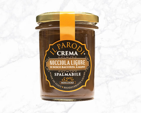 Ligurian Hazelnut Butter Smooth (200g)- Il Parodi