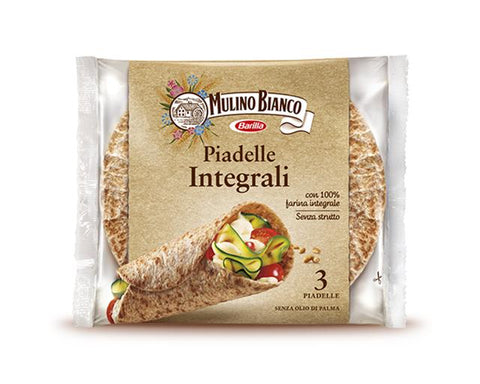 Mulino bianco wholemeal piadelle 225 g