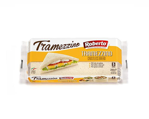 Crustless Sandwitch Bread Roberto 250g