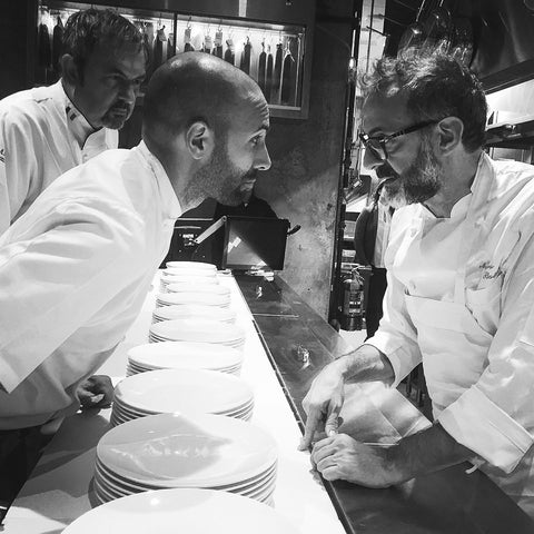 Rob Gentile with Massimo Bottura