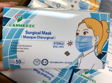 CANMEDIC Surgical Mask (50 pcs)