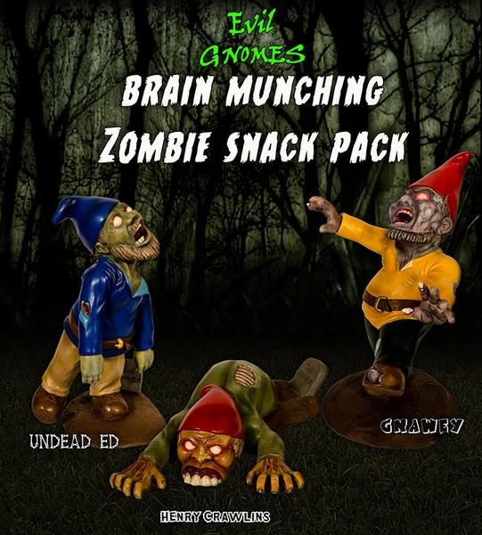 The Brain Munching Zombie Snack Pack
