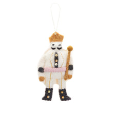Load image into Gallery viewer, Felted Nutcracker Ornament