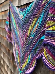Papillon Shawl Kit - worsted version
