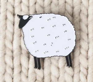 Sheep Sweater Pin