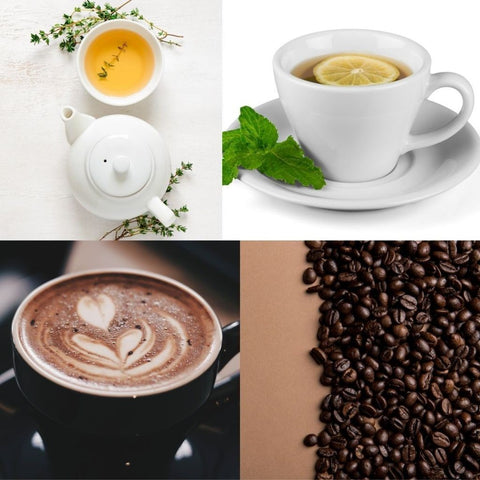 coffee and tea in keto