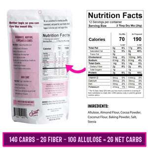 Chocolate Cake Baking Mix - NutraVolts