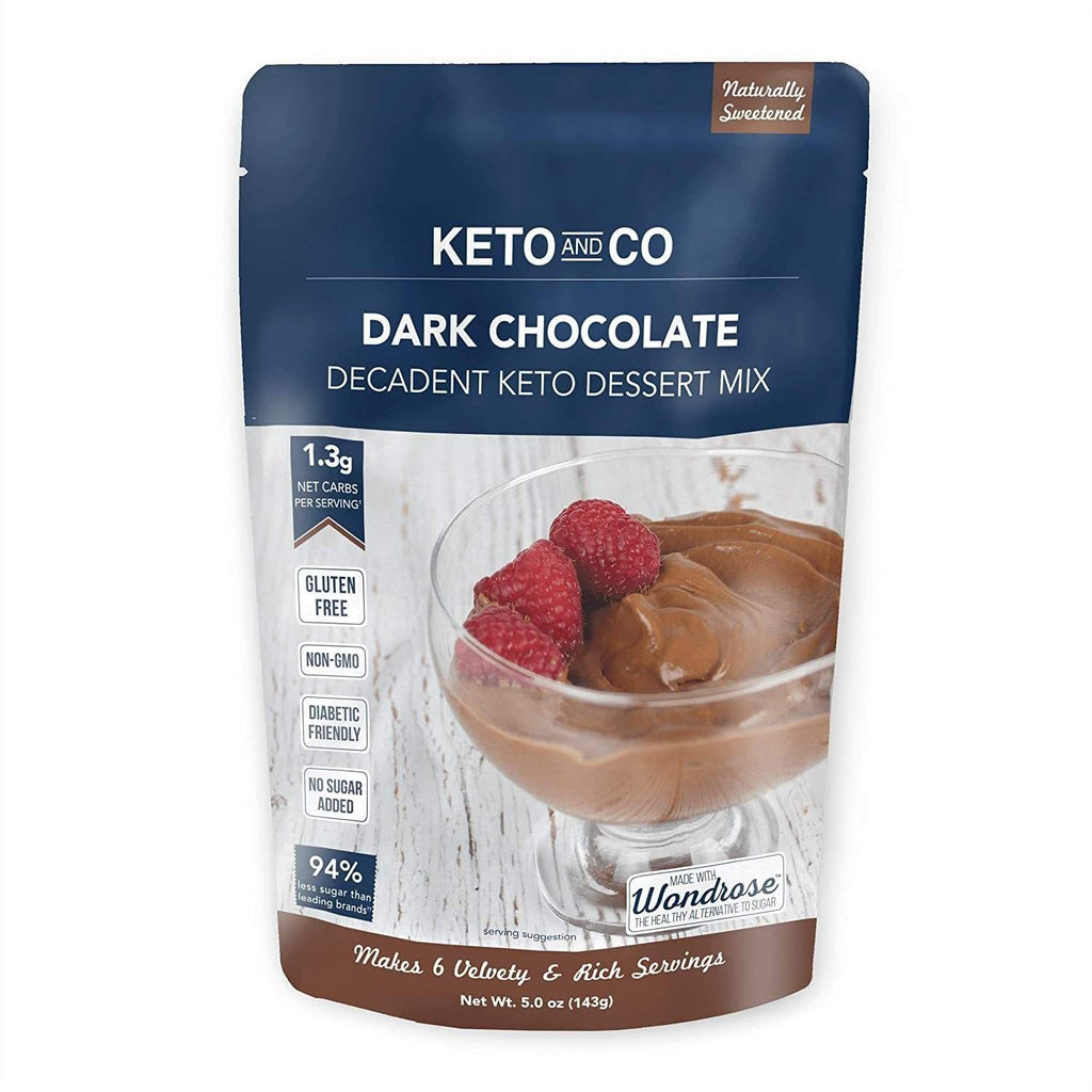 Dark Chocolate Decadent Keto Dessert Mix - NutraVolts