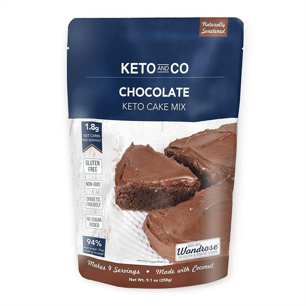 Keto and Co's Chocolate Keto Cake Mix - NutraVolts