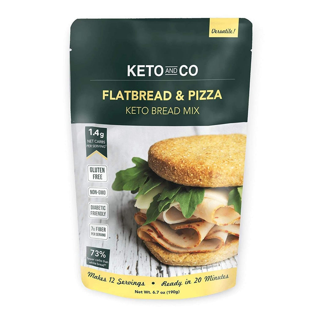 Keto Flatbread & Pizza Bread Mix - NutraVolts