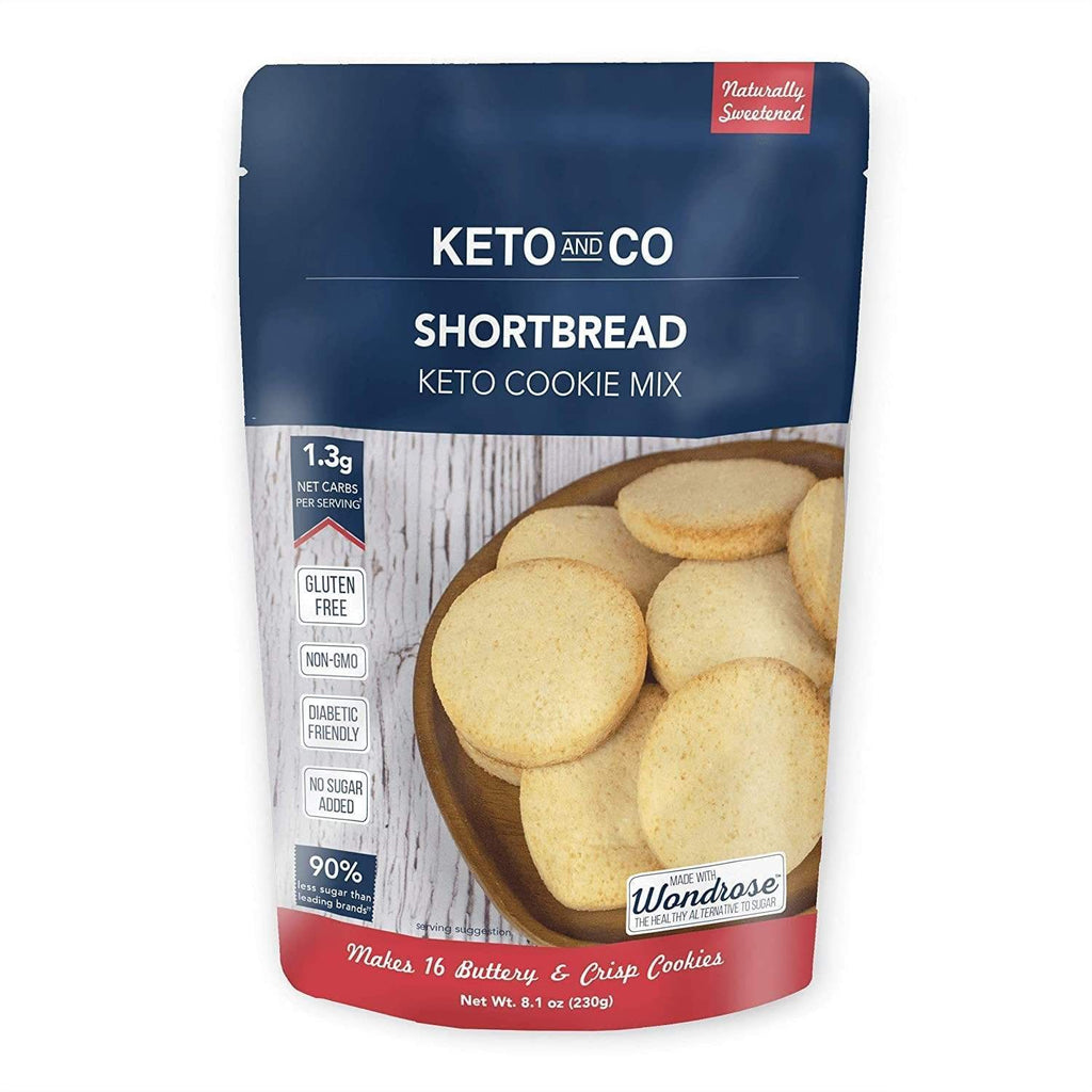 Shortbread Keto Cookie Mix - NutraVolts