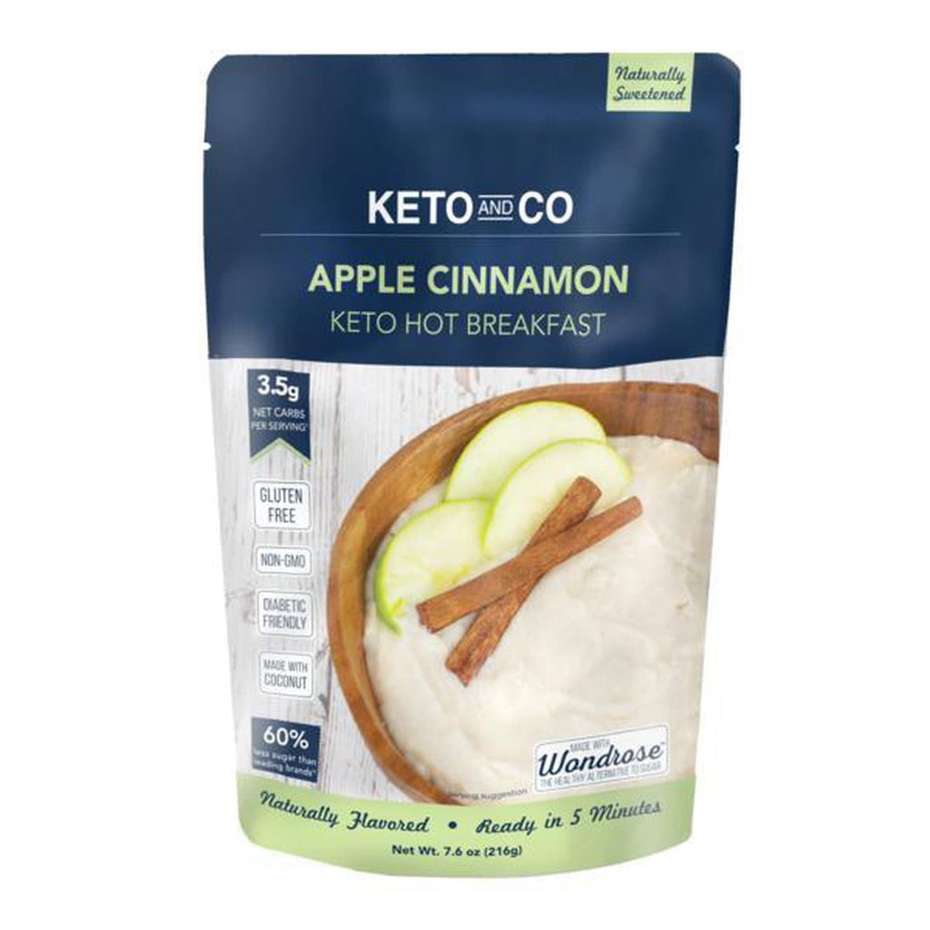 Keto Apple Cinnamon Hot Breakfast - NutraVolts