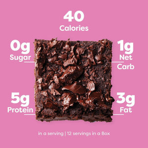 Keto Chocolate Brownie Baking Mix - NutraVolts