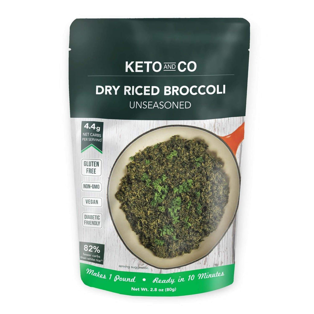 Keto Dry Riced Broccoli - NutraVolts