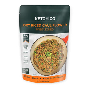 Keto Dry Riced Cauliflower - NutraVolts
