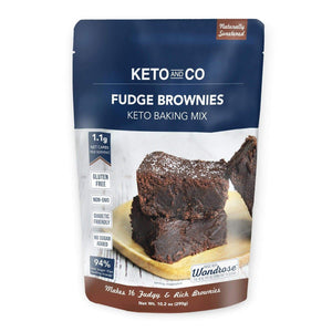 Keto Fudge Brownie Mix - NutraVolts