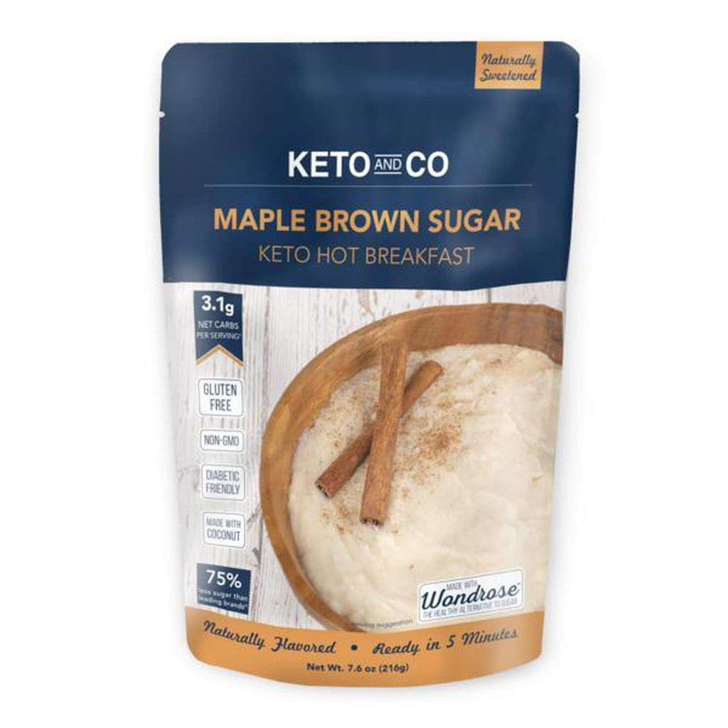 Keto Maple Brown Sugar Hot Breakfast - NutraVolts