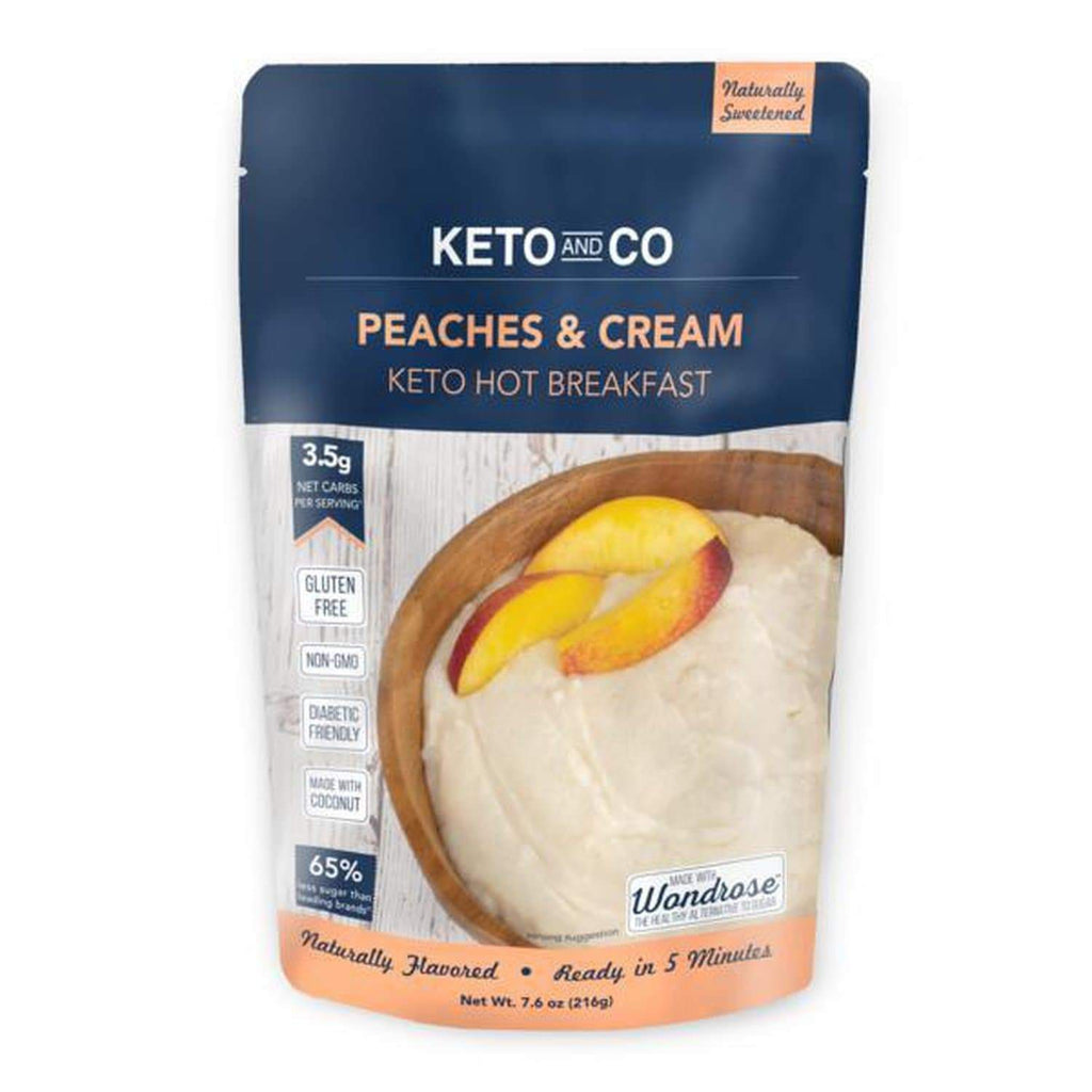 Keto Peaches and Cream Hot Breakfast - NutraVolts