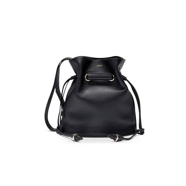 LE HUIT BUCKET BAG SMALL BLACK